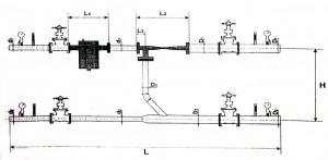 Схема элеваторного узла отопления 2