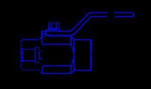 Рисунок 1 кран ЯГТ муфтовый