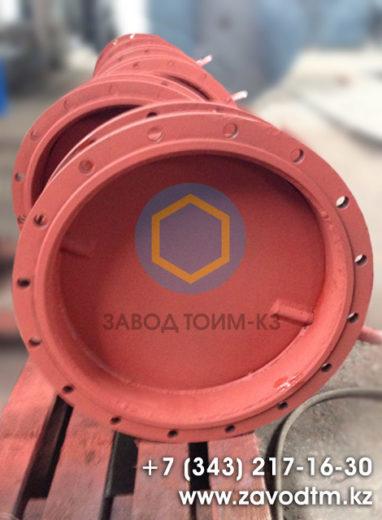 Газоплотный клапан ПГВУ круглого сечения