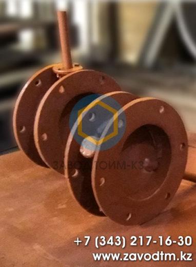 Клапан круглый ПГВУ для пылегазовоздуховодов
